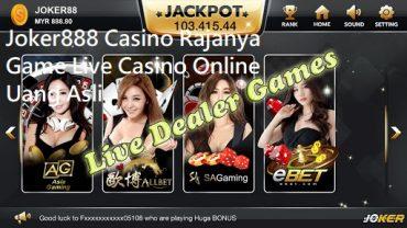 Joker888 Casino Rajanya Game Live Casino Online Uang Asli