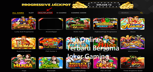 Slot Online Terbaru Bersama Joker Gaming