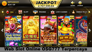 Web Slot Online OSG777 Terpercaya